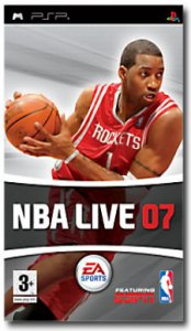 NBA Live 07 per PlayStation Portable