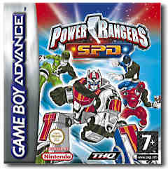 Power Rangers: Space Force Delta per Game Boy Advance