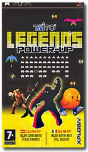 Taito Legends Power Up per PlayStation Portable
