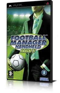 Football Manager Handheld 2007 per PlayStation Portable