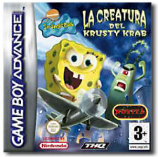 SpongeBob SquarePants: La Creatura del Krusty Krab per Game Boy Advance