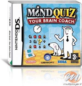 Mind Quiz: Esercita la Tua Mente (Mind Quiz: Your Brain Coach) per Nintendo DS