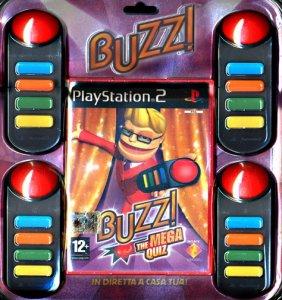 Buzz!: The Mega Quiz per PlayStation 2