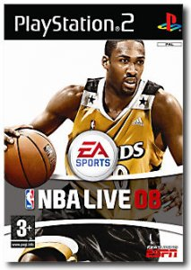 NBA Live 08 per PlayStation 2