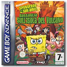 Spongebob e i suoi Amici: Battaglia sull'Isola del Vulcano per Game Boy Advance