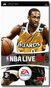 NBA Live 08 per PlayStation Portable