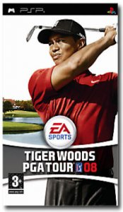 Tiger Woods PGA Tour 08 per PlayStation Portable