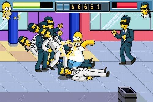 I Simpson in videogioco su iPhone