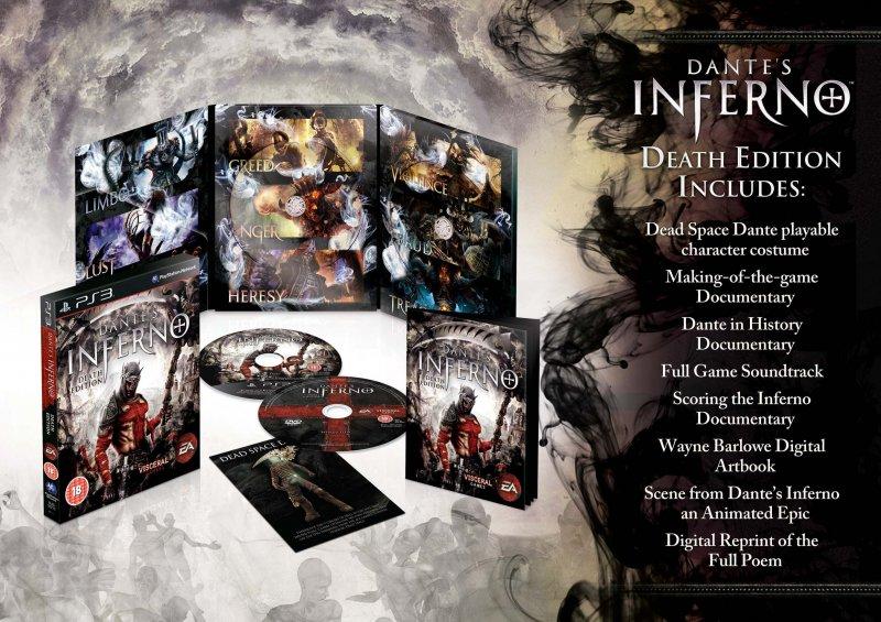 Dettagli sulla Death Edition di Dante's Inferno