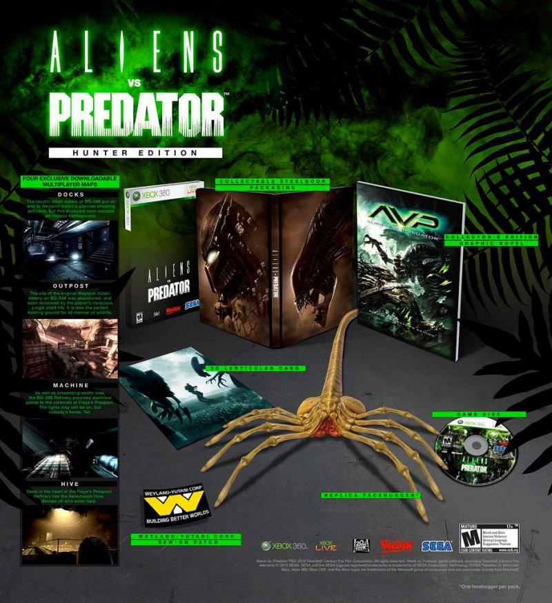 Una foto della Hunter Ed. di Aliens vs Predator