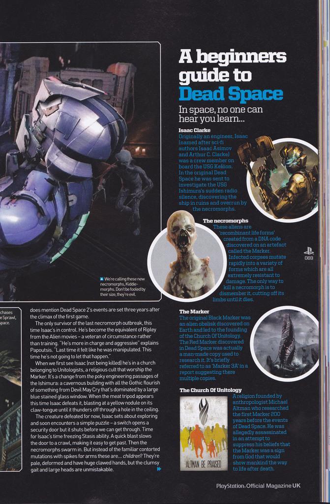 Ancora degli scan per Dead Space 2