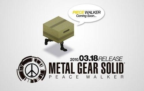 """""""Piece Walker"""": uno strano sito per Metal Gear Solid"""