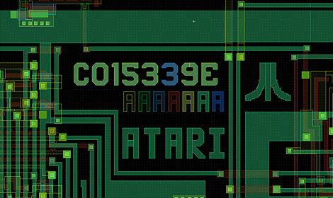 La ricostruzione dei chip Atari