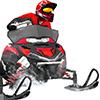 Snow Moto Racing per iPhone