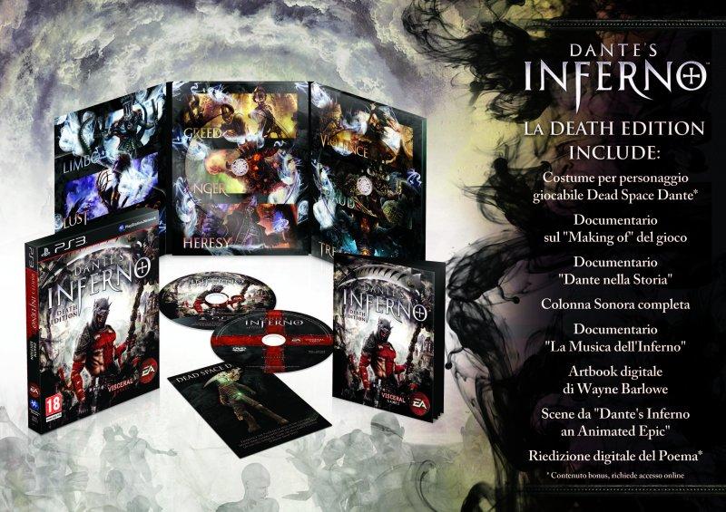 Confermata la Death Edition di Dante's Inferno in Europa