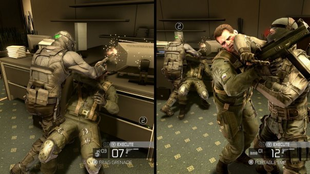 Confermata la coop split/screen di Splinter Cell: Conviction