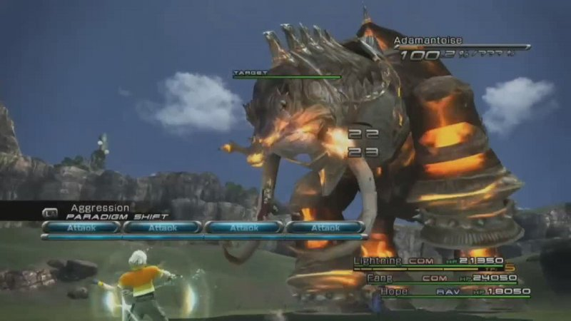 PS3 VS Xbox 360: nessuna differenza per Final Fantasy XIII