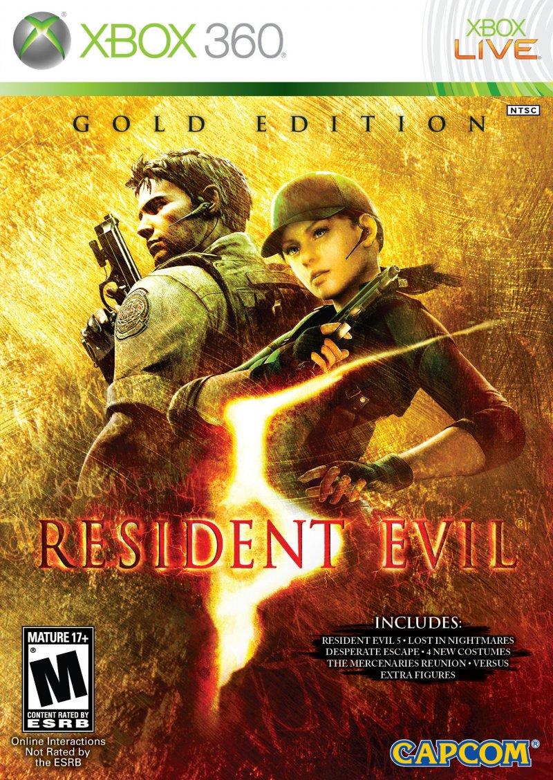 Svelato il packshot ufficiale di Resident Evil 5: Gold Edition