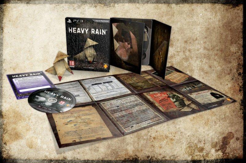 L'edizione speciale di Heavy Rain