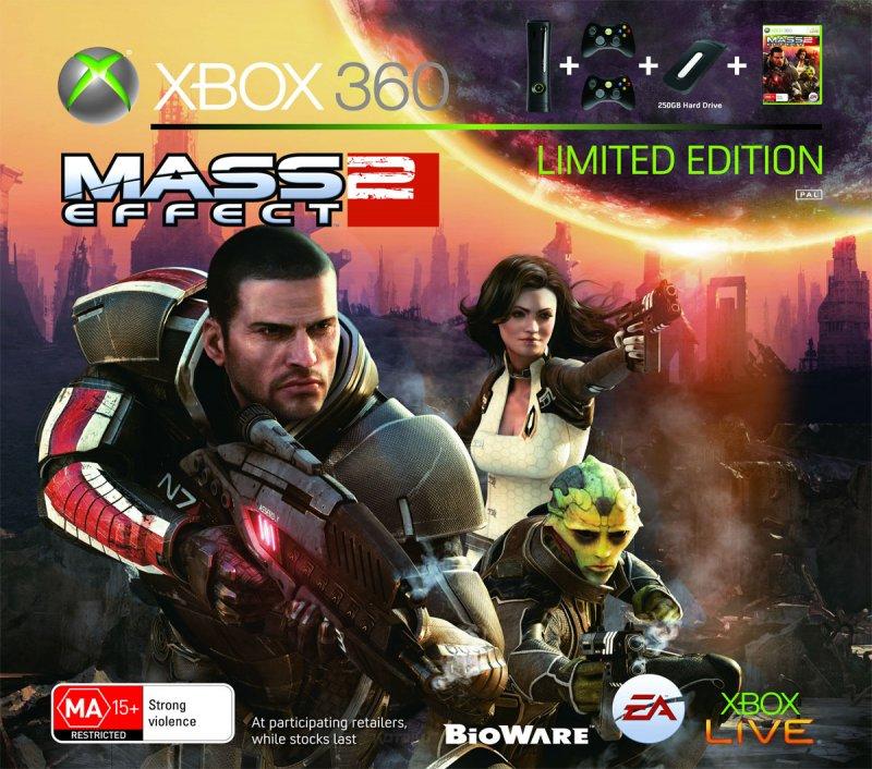 Un bundle australiano con Mass Effect 2 ed Xbox 360