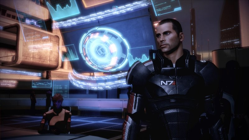 Comandante Shepard, agli ordini!