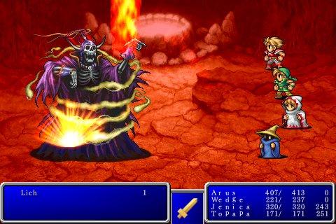 Final Fantasy I e II da ora su App Store