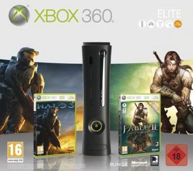 Un bundle per X360 Elite con Fable II e Halo 3