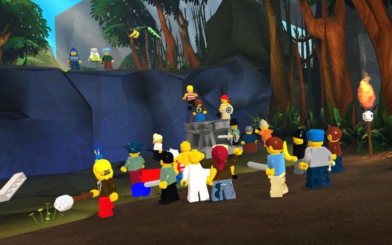Iscrizioni aperte per la beta di Lego Universe