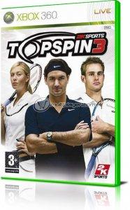 Top Spin 3 per Xbox 360