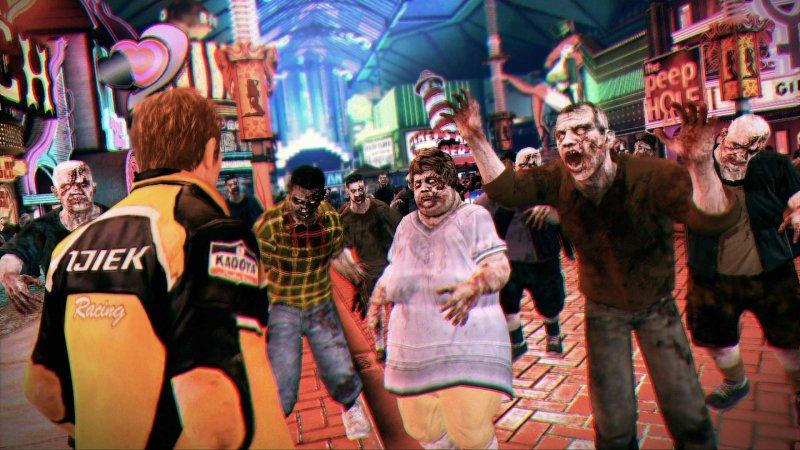 Migliaia di zombie in Dead Rising 2