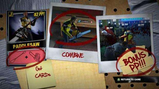 Il sistema di creazione delle armi di Dead Rising 2