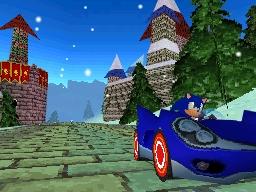 Anche Sonic ha il suo kart