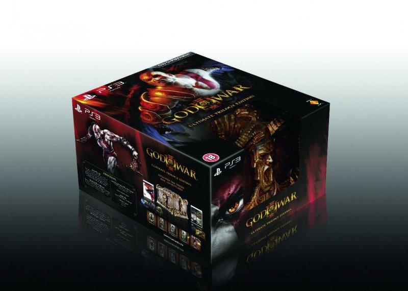 L'Ultimate Trilogy Ed. di God of War III in tutta la sua bellezza