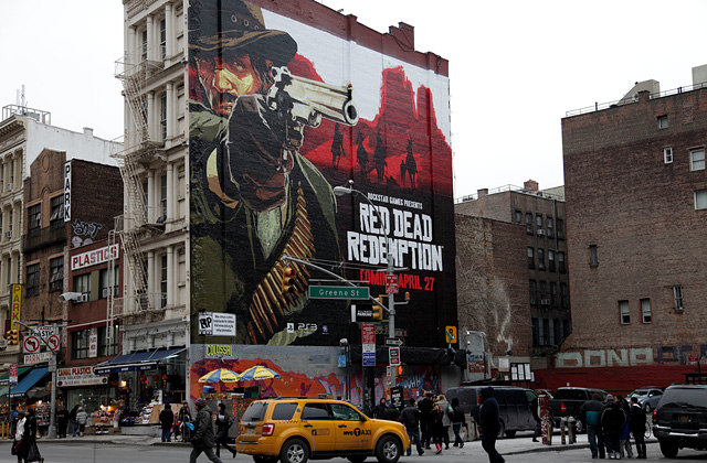 Red Dead Redemption invade New York