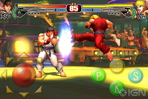 Street Fighter IV da ora su iPhone!