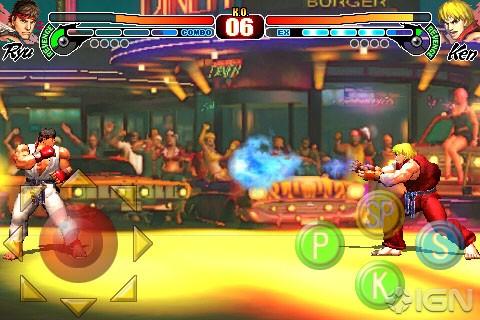 Saranno otto i personaggi di Street Fighter IV per iPhone