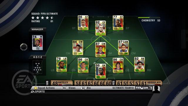 FIFA 10 Ultimate Team disponibile su XBL e PSN
