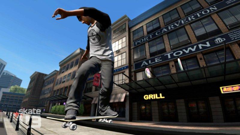 Online la demo di Skate 3