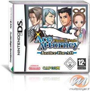 Phoenix Wright: Ace Attorney - Justice For All per Nintendo DS