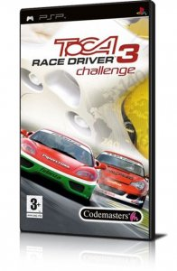 TOCA Race Driver 3 Challenge per PlayStation Portable