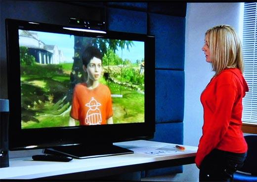 Kinectimals si basa sulla tecnologia di Milo & Kate
