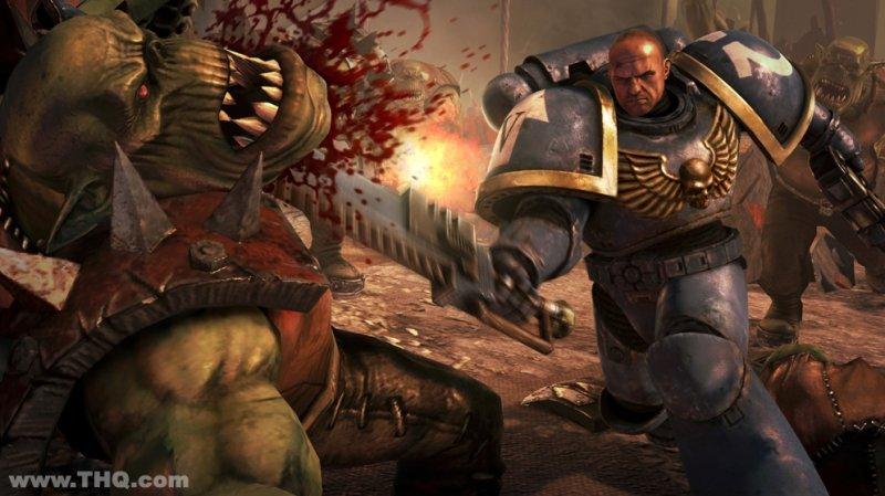 Due immagini per Warhammer 40K: Space Marine