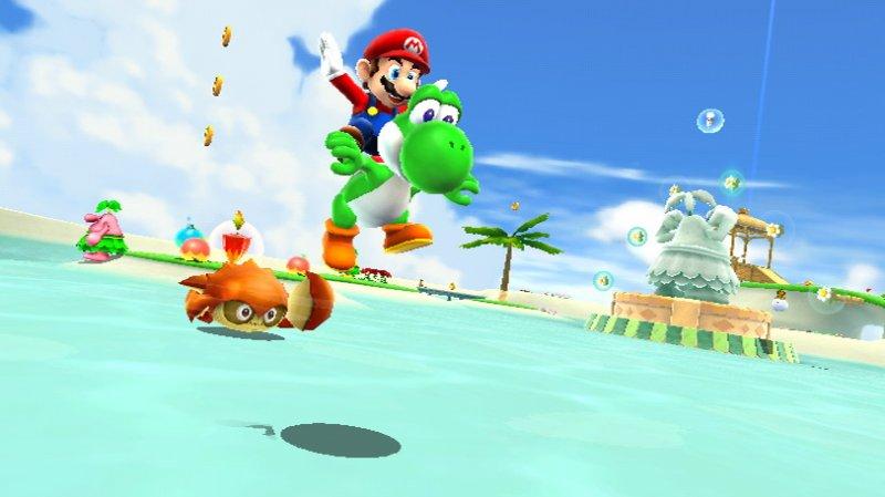 Il menù Nintendo per l'E3