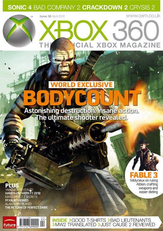 Bodycount è il nuovo shooter del creatore di Black