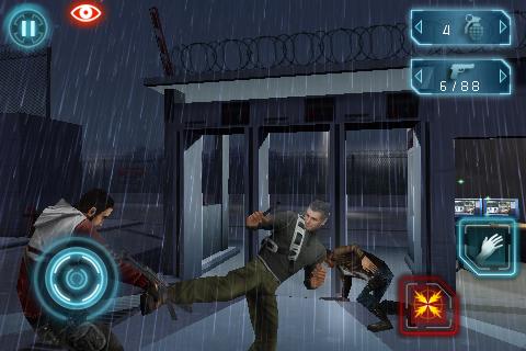 Un gameplay da Splinter Cell: Conviction su iPhone