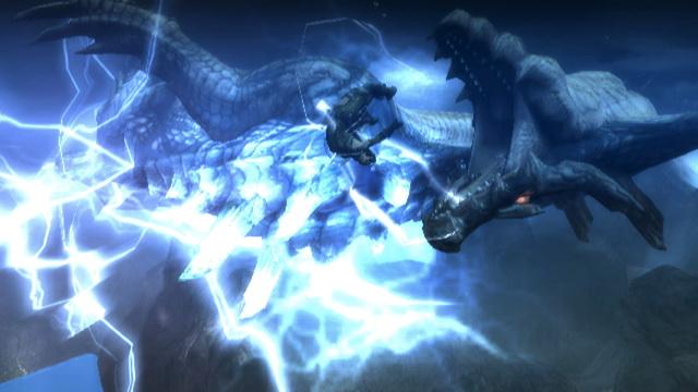 Una presentazione per Lagiacrus, mostro di Monster Hunter Tri