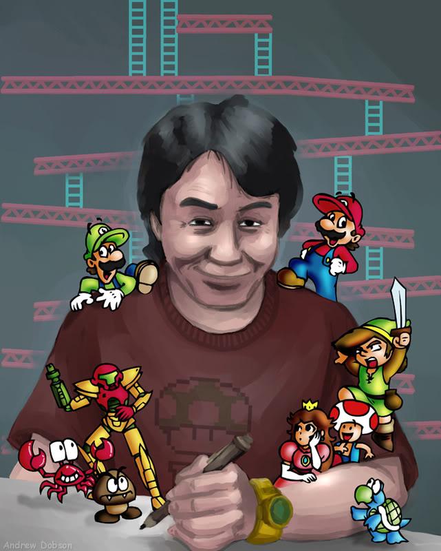 Miyamoto ammette: giochi poco divertenti nel 2009