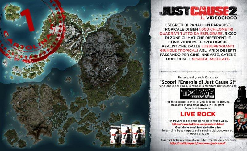 Multiplayer.it e la caccia al tesoro di Just Cause 2!