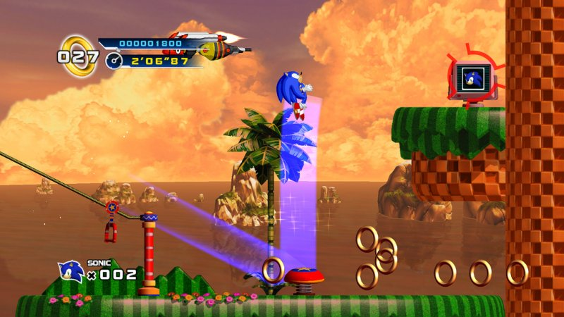 Sonic the Hedgehog 4: la data ufficiale