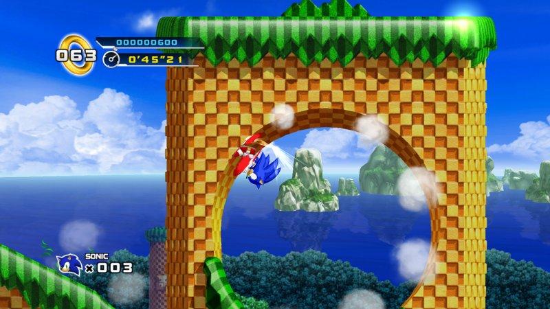 """Il feedback per Sonic 4 è stato un'""""esplosione nucleare"""", dice Sega"""